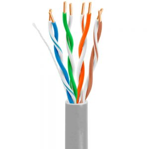 FS17001 Cat5e U-UTP ethernet installation cable CMR CMP rated