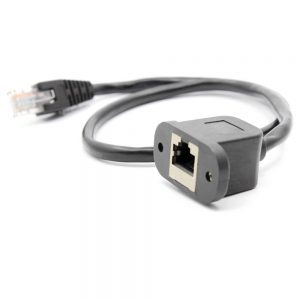 FSP4003 Ethernet Panel mount extension cable